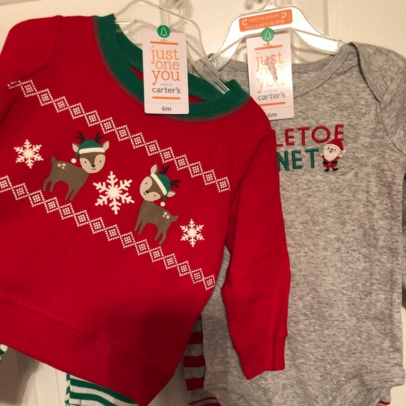 04d03697c Carter's Matching Sets | Christmas Outfits For 6month Old New With ...